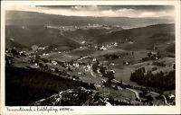 Warmensteinach Fichtelgebirge Postkarte 1952 Gesamtansicht Panorama Talblick