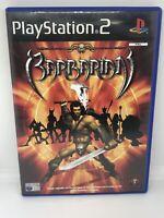 Barbarian - ps2 playstation 2 game