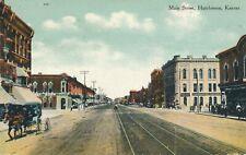 HUTCHINSON KS – Main Street - 1911