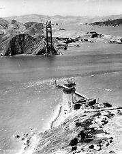 1934 Photo of Golden Gate Bridge Under Construction, San Francisco, California