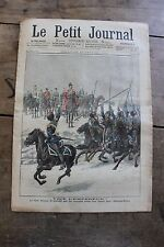 Petit journal dibujada Nº693 1904 Zar Nicolas II Saint Petersburgo Palacio 1