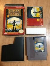 Times of Lore NES Nintendo with Box and manual CIB except map