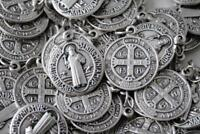 HUGE Catholic Italian St Benedict Medal Lot - 100 Medals - FREE IN SHIPPING USA