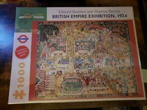1000 Piece Pomegranate Artpiece Jigsaw Puzzle (British Empire Exhibition 1924)