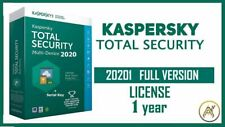Kaspersky TOTAL Security 2021✔️ 1 Devices ✔️ 1 Years + GLOBAL ✔️ Win - MAC