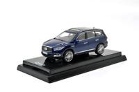 Model Cars 1/64 1:64 Scale QX60 Blue Diecast Model Car Paudimodel