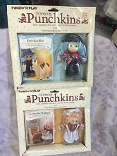 Creata Storybook Punchkins Mother Hubbard Little Boy Blue Doll 1983 NRFB Lot 2