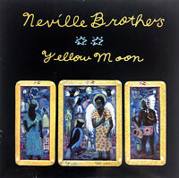 "The Neville Brothers 7"" Yellow Moon - France (EX/EX)"