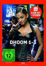 "3 DVDs * DHOOM 1-3 BOX # NEU OVP """