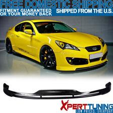 Fit For 10-12 Hyundai Genesis Coupe Type S1 Front Bumper Lip Spoiler Bodykit