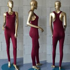 Mujer Deportivo YOGA Ejercicio Gimnasio Fitness Leggings Mono Body Monos