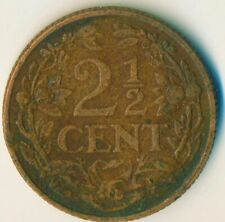 COIN / THE NETHERLANDS / 2 1/2 CENT 1916  #WT11573