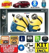 07 08 COMPASS CALIBER PATRIOT TOUCHSCREEN DVD CD USB BLUETOOTH CAR STEREO RADIO