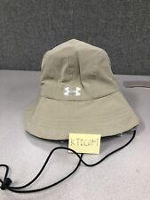 New Under Armour Men's Black Warrior Bucket Hat- Sand Beige