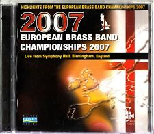 Best of The European Brass Band Championships 2007 HL RARE 2-CD Willebroek/Cory