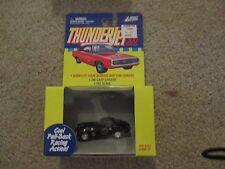 Johnny Lightning Thunderjets Thunder Jet 500 Chevy Corvette Black Pull back MISB