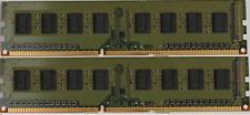 KIT RAM 4GB 2X 2GB DDR3 2RX8 PC3-10600U 1333MHz MEMORIA PC3-10600 240PIN