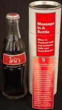 THAILAND Coca-Cola Message Bottle in TUBE - COOL COCA-COLA SCRIPT~!!