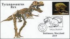19-228, 2019, Tyrannosaurus Rex, Pictorial Postmark, Event Cover, Baltimore MD,