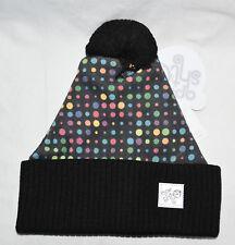 New Ape Sht Polka Dot Disco Digi Beanie Bobble Hat Made in UK cc4bb53870cb