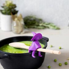 Agatha Spoon Holder & Steam Releaser  Witch Kitchen Cooking Ototo New Genuine
