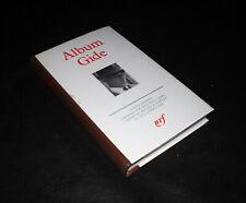 Album Gide - Bibliothèque de La Pléiade - Gallimard 1985 - OTTIMO
