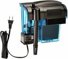 PENN PLAX(CPF3) Hang-on Aquarium Filter  Quad Filtration System Cleans 35 Gallon