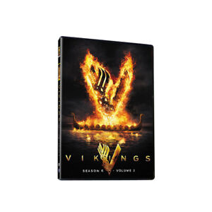 TV Series:Vikings: Complete Season 6 Volume 2(3 Discs,DVD Box Set)New and Sealed