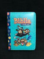 Biblia Para Niños infantil Mi Gran Viaje Reina Valera 1960 Con Cierre Aqua