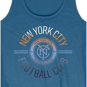 Mitchell & Ness Womens NYFC New York City FC Tank Top Shirt Save 30% Small