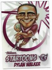 2018 NRL Traders Startoons (ST 7 / 18) Dylan WALKER Sea Eagles