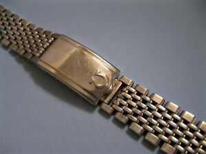 Omega Beads of Rice Watch Bracelet, 18 mm, 20 Microns Rose Gold Plate Ref 1503/1
