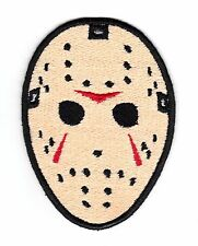 Friday The 13th Jason Voorhees Embroidered Iron On Patch