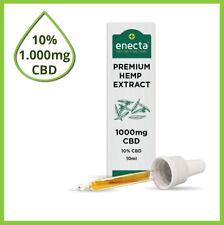 ENECTA® CBD Hanföl 10 Prozent - Premium BIO / Cannabisöl mit echten 1.000mg CBD