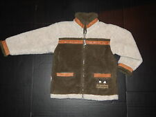 Boys Compania Del Lejano Sur Fleece Coat Youth Medium Argentina South America