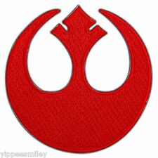 Empire Rebel Alliance Starbird Symbol Star Wars Embroidered Iron On Patch #0438
