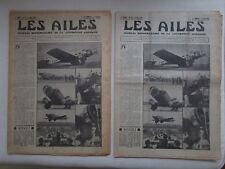 AILES 1935 725 WIBAULT CAUDRON C-580 PLAN 10000 AVIONS COUPE DEUTSCH ALGERIE POU
