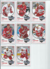 Steve Yzerman  10/11 Upper Deck  20 card - Hockey Heroes Insert Lot   1 thru 8