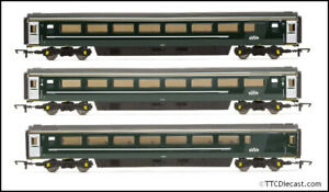 Hornby GWR SlamDoor Mk3 Coaches different variants available you choose OO Gauge