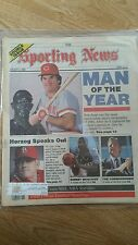 Sporting News Pete Rose Man of the Year Jan. 6, 1986 very sharp no creases