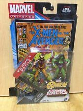 Marvel Universe Comic Packs 3.75Wolverine & She-Hulk Toys R Us Tru Exclusive Nip