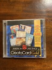 American Greetings CreataCard Gold Version 3 CD-ROM Windows 95 or higher