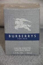 Burberrys Men Cologne By Burberry's 1.7 oz Eau De Toilette Spray Factory Sealed