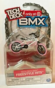 TECH DECK BMX FREESTYLE HITS CULT TARGET EXCLUSIVE WHITE PINK SG163