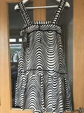 M&S Collection Size 10 Ivory Mix Patterned BNWT Sleeveless Dress Underarm L 26