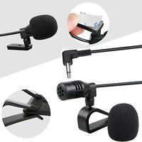 3.5mm Microphone Car Radio Stereo GPS Bluetooth Enabled Audio DVD External Mic