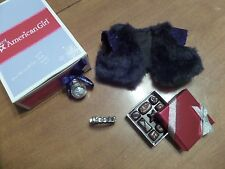 """American Girl 18"""" Doll 2014 HAPPY HOLIDAY ACCESSORIES SET Retired New in Box"""