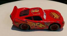 Vintage Walt Disney Pixar Medicated Rust-Eze Bumper Ointment Cars Red racing car
