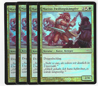 TCG 94 MtGMagic the Gathering Marisis Zwillingskämpfer Gateway Promo Playset (4)