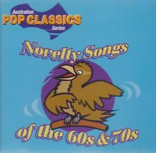 [BRAND NEW] CD: NOVELTY SONGS OF THE 60s & 70s: VARIOUS ARTISTS (RARE ON CD)